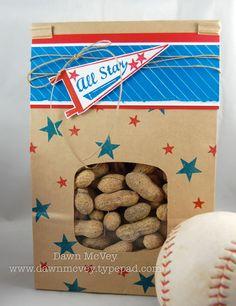 Peanut party favors