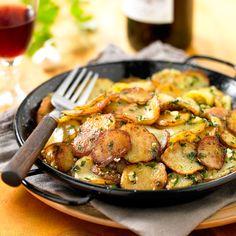 A la base d'un grand nombre de classiques de la cuisine, la pomme de terre aime la simplicité, mais sait également se faire créative et glamour. Gardez la frite avec nos idées gourmandes et conviviales.