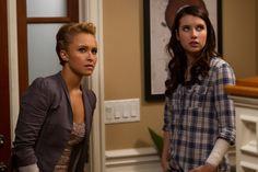 Hayden Panettiere and Emma Roberts in Scream 4