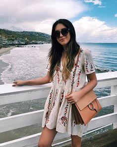 "24k Likes, 718 Comments - Brittany Xavier (@thriftsandthreads) on Instagram: ""Sunday in Malibu """