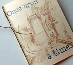 Fairytale wedding invitation booklet, customized with your love story, high end set of 15