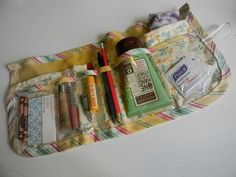 You'll love the step-by-step instructions in this free sewing pattern for a handy-dandy bag organizer.