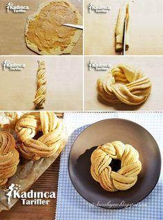 Tahinli Çelenk Çörek
