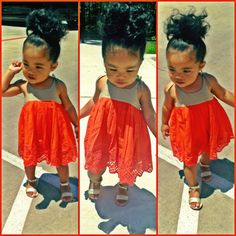 My child would prolly look lk that with that big curly hair :))