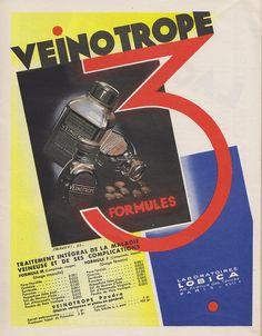 Veinotrope 3 formules.