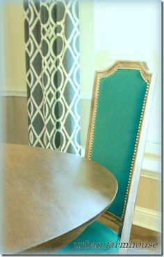 From old cane-backed chairs to this- exactly what I need for our dining room chairs!!