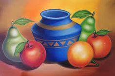 Resultado de imagen para cuadros de canasta con frutas