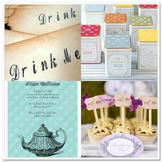 What's Up Whimsy!: Alice in Wonderland Tea Party Wedding Shower