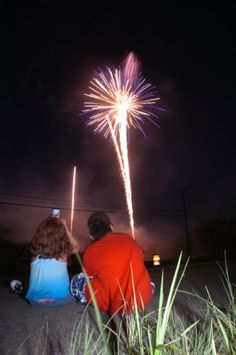Watch Fireworks Together ..<3 <3 <3