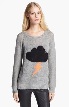 Need (the cheaper version) Elizabeth and James 'Raincloud' Intarsia Knit Sweater available at #Nordstrom