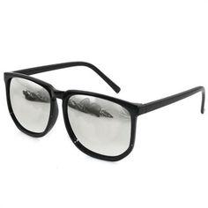 Fashion Retro Vintage Mirrored Lens Wayfarer Franco Sunglasses Nerd Glasses NEW