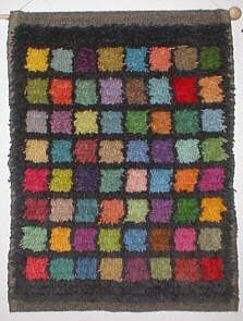 Finnish Rya Rug Tapestries - Paivatar -