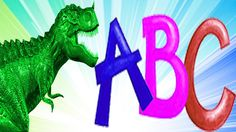 Dinosaurs ABC Songs for Children ABCD Song | Learning Alphabets With Din...