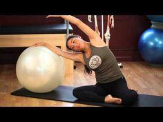 Upside-Down Pilates - Balance Ball - Lesson 52 - Full 30 Minute Pilates Workout - HD