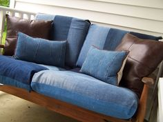 Re-purposed Denim I so want to do this! #DIYiLoveThis