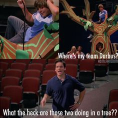 """""""""""What the HECK are those two DOING IN A TREE???"""" favorite quote in #hsm1 """""""