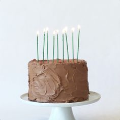 Happy 100th birthday, Chuck Williams! To celebrate, our test kitchen made this sour cream-chocolate cake recipe on behalf of Chuck's love for chocolate.