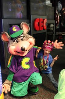 Everyone loves spending time with Chuck E.!