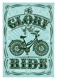 The Glory of the Ride by Alexandra Snowdon