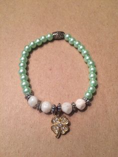 A personal favorite from my Etsy shop https://www.etsy.com/listing/255682244/handmade-bracelet-for-a-cure