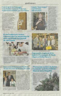 @A_Genestra Chef #Chef #Mallorca El Chef Mallorquin Andreu Genestra abre un restaurante de autor en el Predi Son Jaumell de cala Rajada