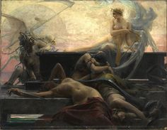 A mysterious beauty of a painting by Maximilian Pirner an obscure Czech Artist.