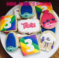 Mrs Kreks Cakes Cookies Gallery Decorated Cookies