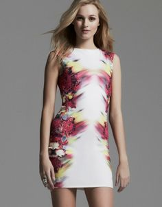 Lipsy Floral Mirror Print Dress - Get an Exclusive 10% Off with MyVoucherCodes.co.uk