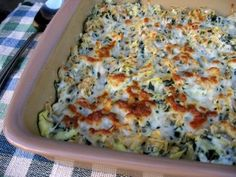 Skinny Artichoke & Spinach Pasta Bake | Weight Watchers Friendly Recipes | Simple Nourished Living