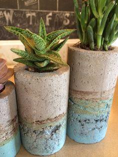 hypertufa planter art - Google Search