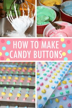 Downright Dotty: DIY Candy Buttons Recipe