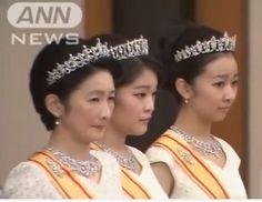 Princess Kiko and her daughters