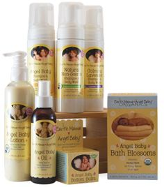Natural Bath & Beauty Products For Mom And Baby  featuring @Earth Mama Angel Baby