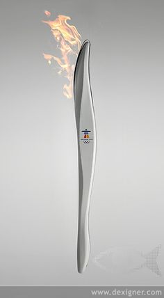 "2010 Olympic Torch Wow; I remember thinking to myself "" that looks like a joint!"" Bombardier and IOC promoted our favourite cottage industry. The rest of the marketing world should feel a bit outclassed."