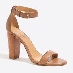 7949008abd9 Stacked-heel sandals   FactoryWomen Heels