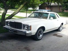 1976 Ford Granada ~ Mine was a blue, 2-door, with a manual transmission in the column ~ I think it was a 1978 model, bought in 1983.