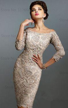 vestidos coctel de encaje - Buscar con Google