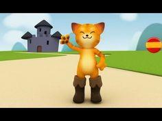 Cuentos infantiles: EL GATO CON BOTAS - YouTube