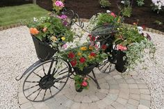 """bicycle garden 
