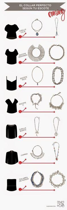 Apropos: Unode50 y el collar perfecto para tu escote!