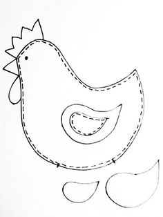 1 million+ Stunning Free Images to Use Anywhere Farm Crafts, Easter Crafts, Chicken Pattern, Chicken Crafts, Fabric Animals, Sewing Art, Felt Ornaments, Applique Quilts, Hobbies And Crafts