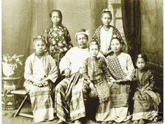 """This is a photo of the last King Queen of Burma (""""Myanmar Pyi"""") – a Sovereign Nation. Exiled to Ratnagiri in India1885. King Thibaw died there. Supayalat returned to Burma with two of her three children in 1918 after Thibaw's death. She lived out the rest of her days devoting her life to the Buddhist faith on a government"""