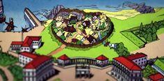 Village Gaulois Asterix BD  More here! http://lamaisonmusee.com/