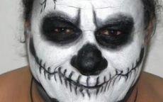 Tutorial Make Up - Halloween: Teschio/Skull - Tentazione Makeup - http://www.tentazionemakeup.it/2011/10/tutorial-make-up-halloween-teschio-skull/ #makeup #tutorial #howto #halloween #teschio #skull #skeleton