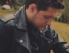 """Leather jacket photoshoot"" Then & Now"