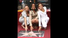 Destiny's Child at Hollywood Walk of Fame