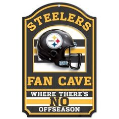 NFL Pittsburgh Steelers Fan Cave Sign