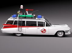 Cadillac ECTO-1 Ghostbusters 1959