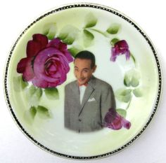 Pee-wee Herman Antique Plate