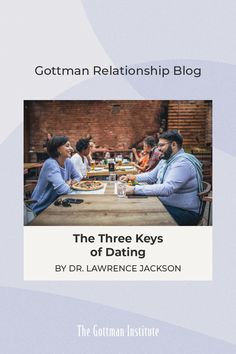 """""""Knowing how you want to be treated and how you would like to feel with a partner is essential to your comfort and security—especially when you think about moving forward with those individuals."""" Ready to mingle? Dr. Lawrence Jackson, LMFT offers tips to help you navigate the dating world. Read more on our Gottman Relationship Blog. Relationship Blogs, Relationships, Gottman Institute, Dating World, Moving Forward, Read More, Thinking Of You, Jackson, Feelings"""